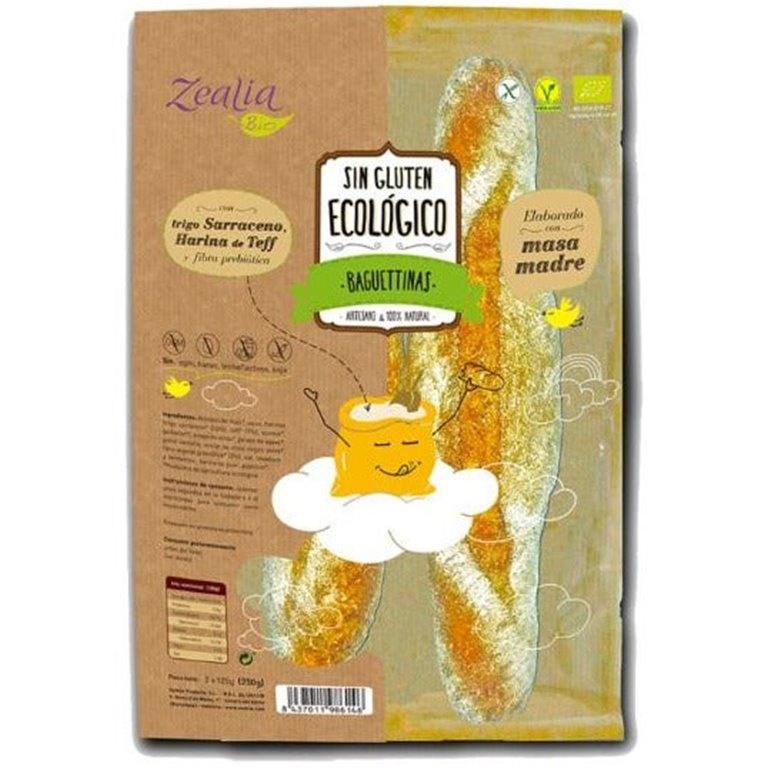 Baguetinas Sin Gluten Bio 250g