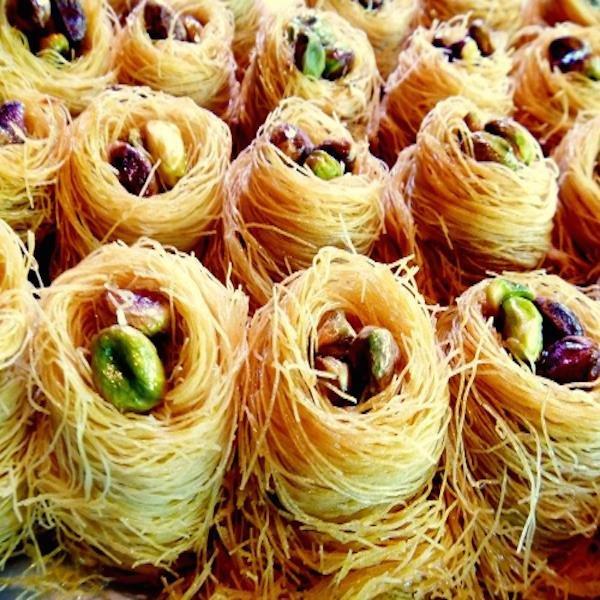Baklava Nidos de Pistacho Caja Grande