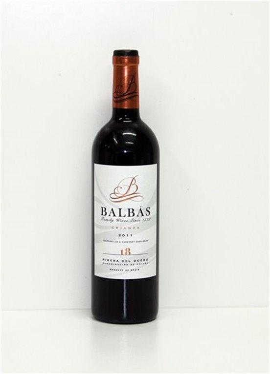 BALBAS - Tinto - Crianza 2014, 0,75 l