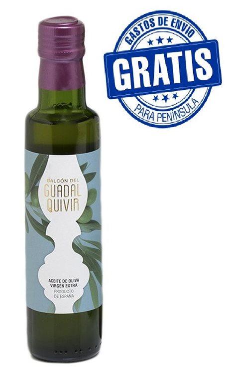 Balcón del Guadalquivir. Aceite de oliva Picual. 15 botellas de 250 ml, 1 ud