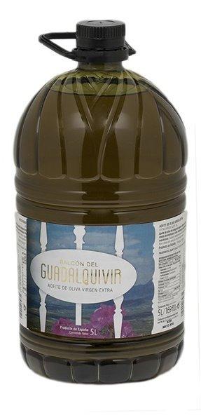 Balcon del Guadalquivir. Aceite de oliva Picual. 5 Litros.
