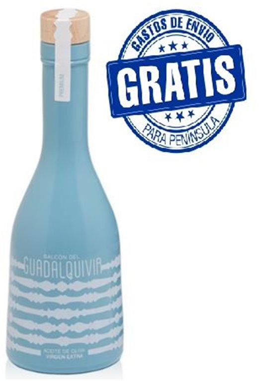 Balcón del Guadalquivir Premium. Aceite de oliva Picual. 9 botellas de 250 ml, 1 ud