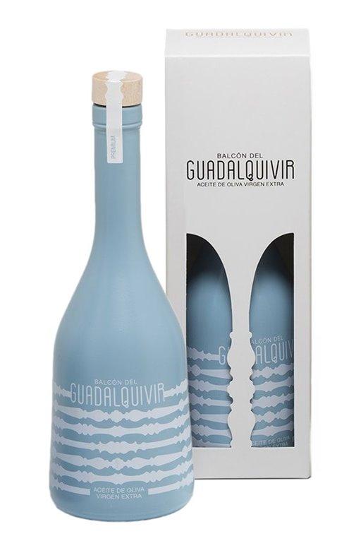 Balcón del Guadalquivir Premium. Aceite de oliva Picual.  500 ml, 1 ud