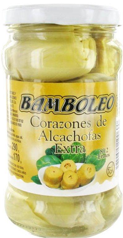 Bamboleo - Corazones de alcachofas extra (8/12 frutos)