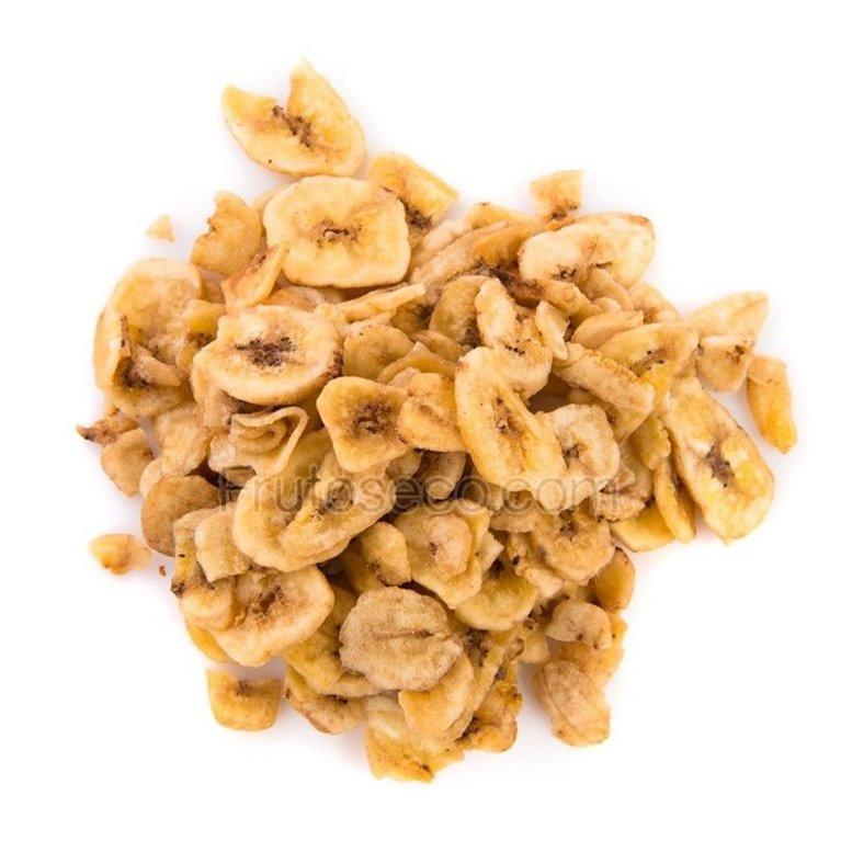Banana Chips, bandeja 250 gramos., 1 ud