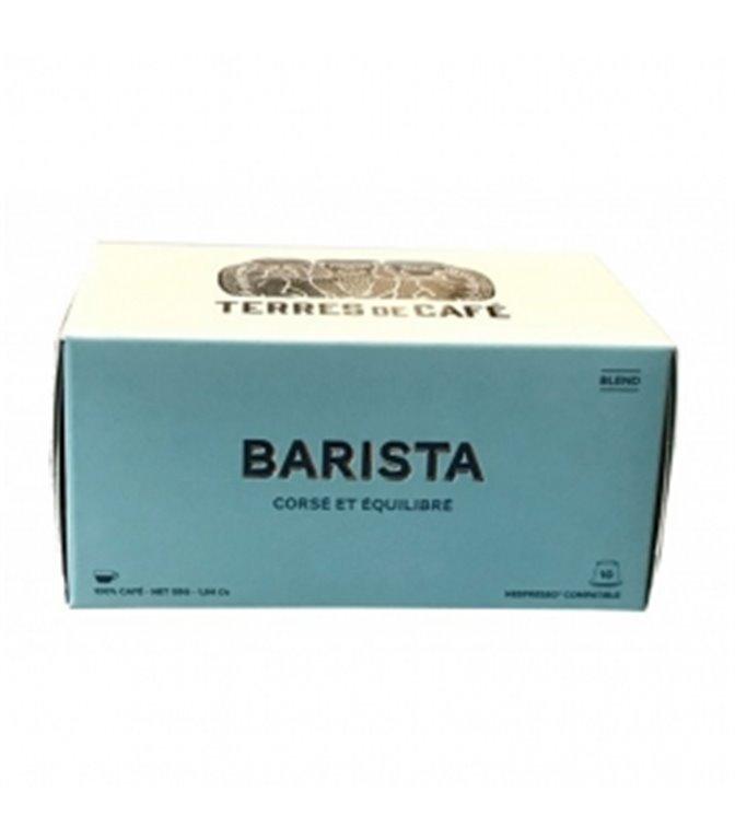 Barista Blend of Organic Coffees (10 Capsules). Terres de Café. 15un.