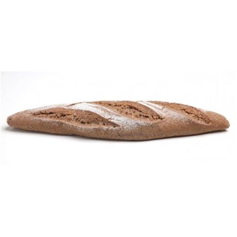 Barra de pan de centeno integral