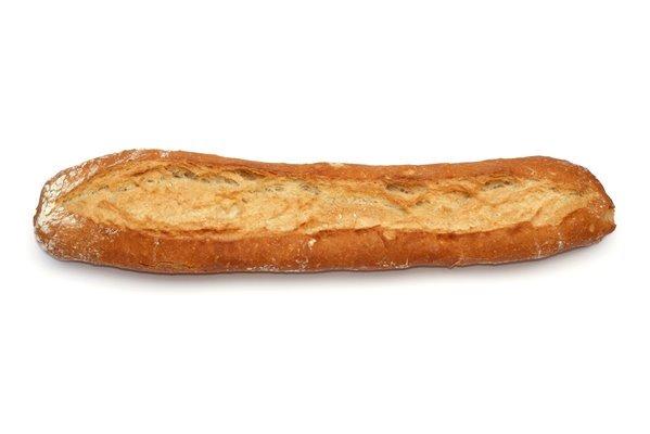 Barra de pan leña