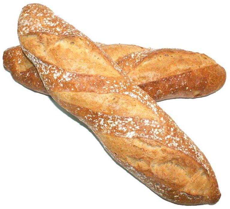Barra de pan rústico