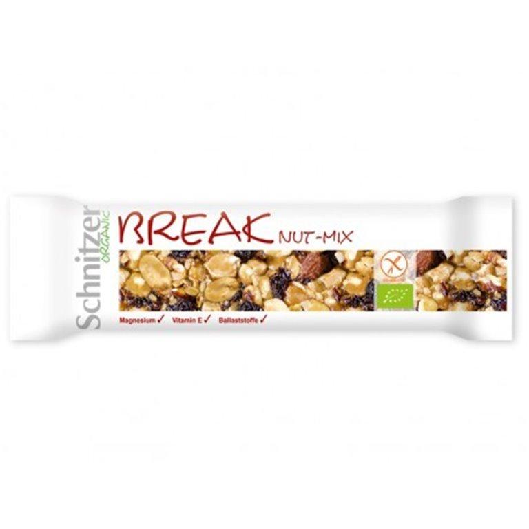 Barrita Break Nut-Mix S/G, 1 ud