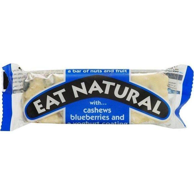 Barrita de anacardos y arándanos con yogur, 45 gr