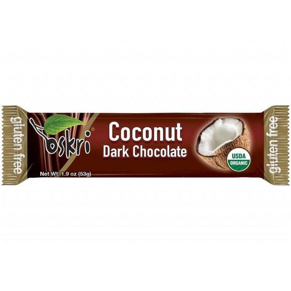 Barrita de coco con chocolate negro - 5 uds de 53 g - Oskri