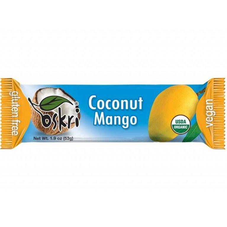 Barrita de coco con mango