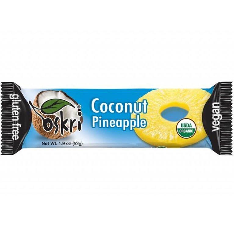 Barrita de coco y piña - 20 uds de 53 g - Oskri