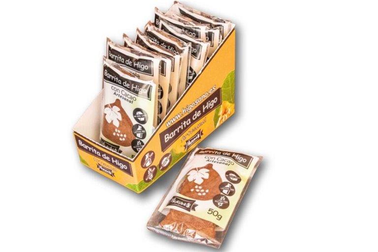 Barrita de higo con cacao 50G