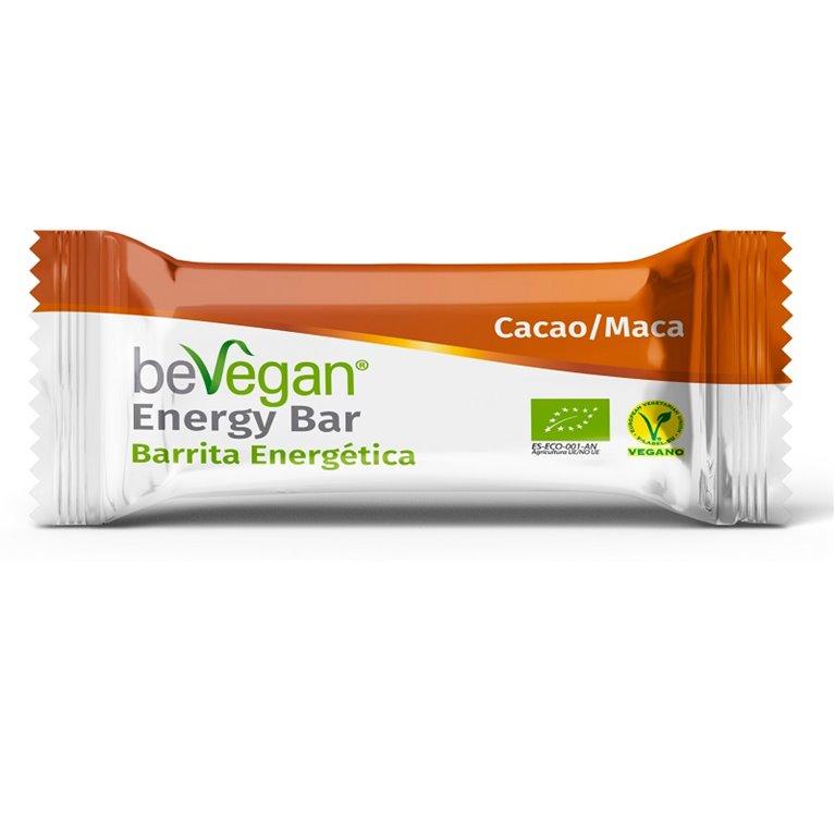 Barrita energética cacao-maca, 40 gr