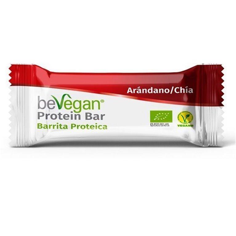 Barrita proteica arándano-chía, 40 gr