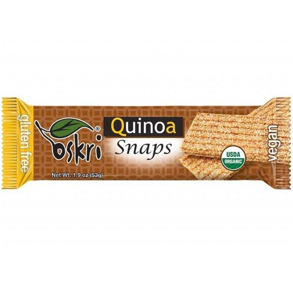 Barrita snaps de quinoa - 20 uds de 53 g - Oskri