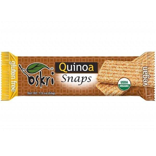Barrita snaps de quinoa - 5 uds de 53 g - Oskri