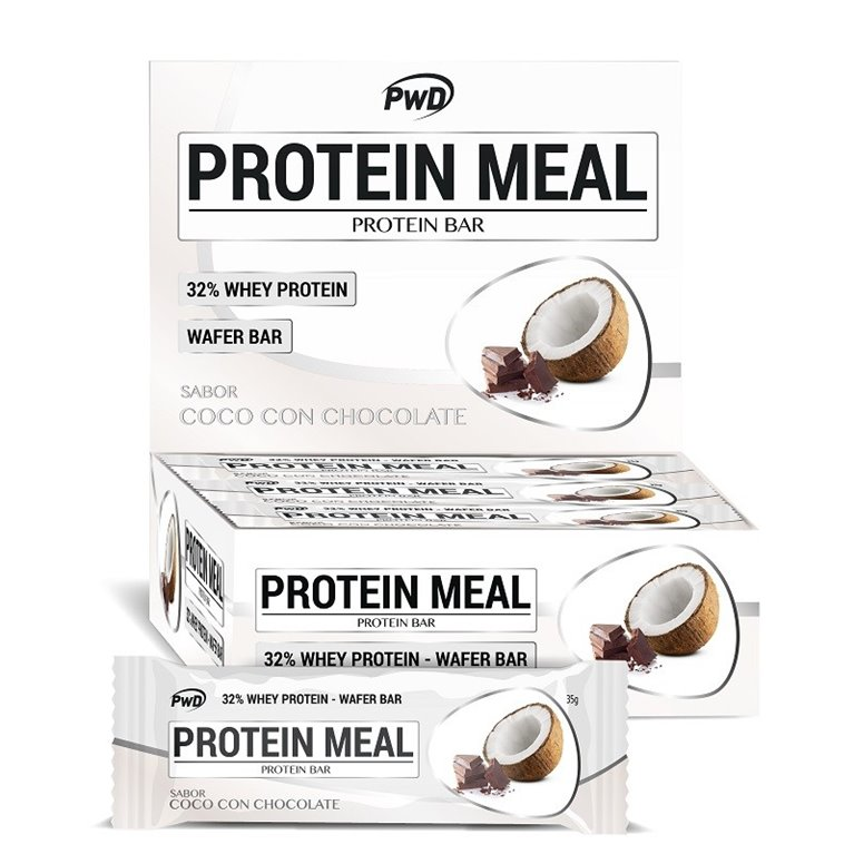 Barritas Protein Meal Coco con Chocolate 12 x 35g