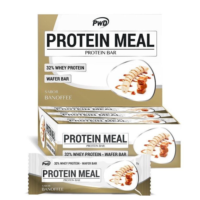 Barritas Protein Meal Sabor Banoffe 12 x 35g