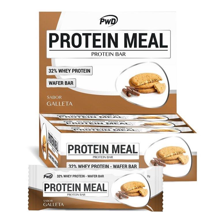 Barritas Protein Meal Sabor Galleta María 12 x 35g