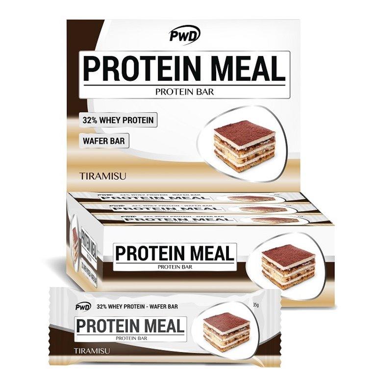 Barritas Protein Meal Sabor Tiramisù 12 x 35g