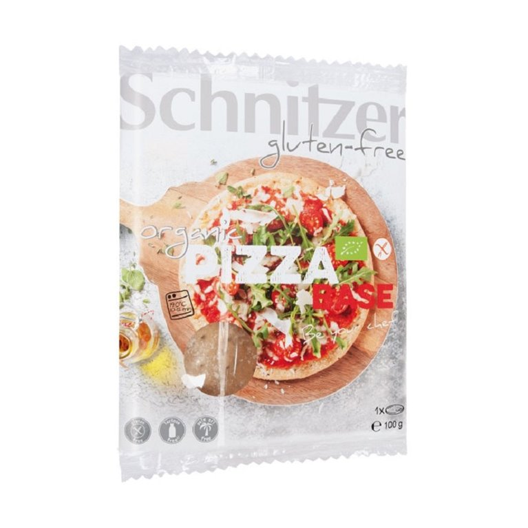Base de Pizza Sin Gluten Bio 100g