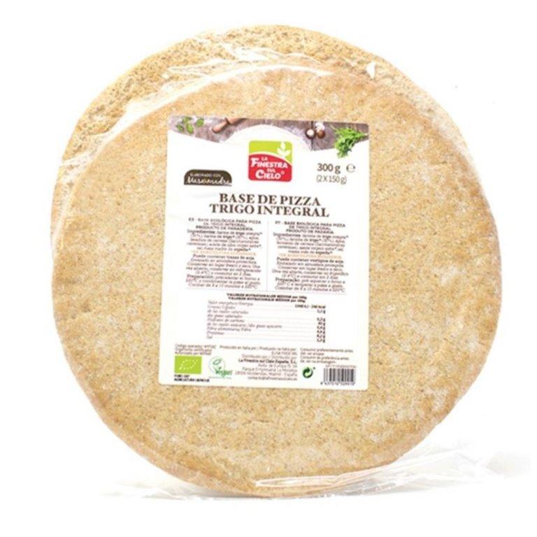 Bases de Pizza de Trigo Integral Bio 300g