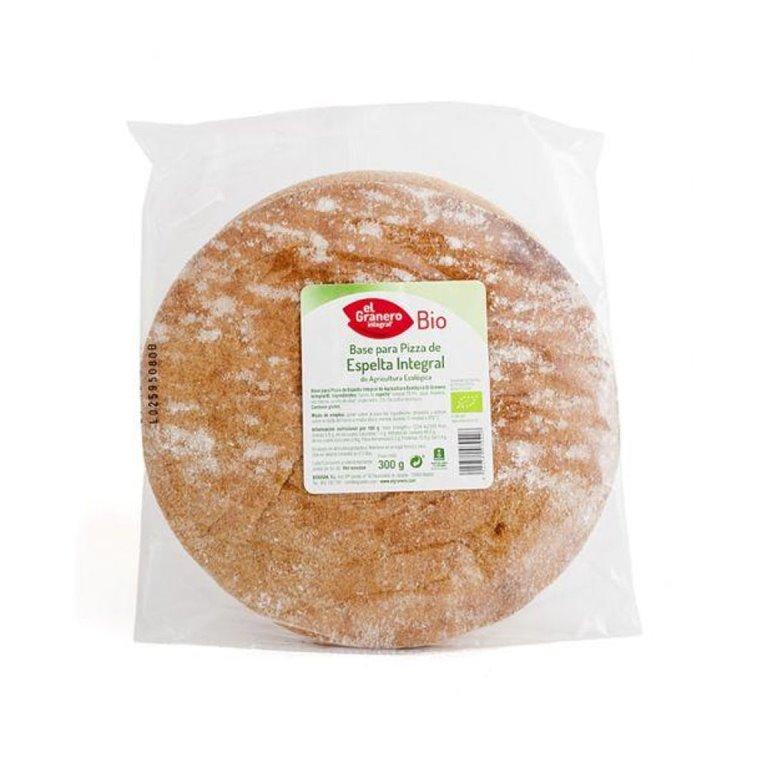 Organic Wholemeal Spelt Pizza Bases 2 x 150 Gr