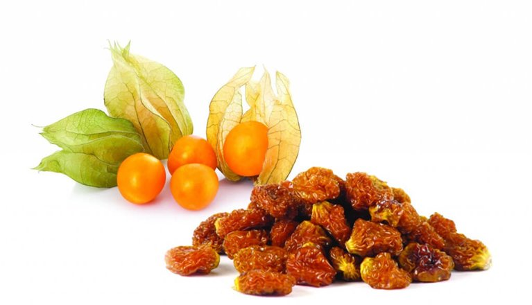 Bayas incas (incan berries physalis)