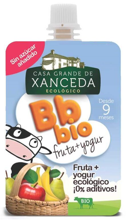 BBbio Yogur con fruta, 90 gr