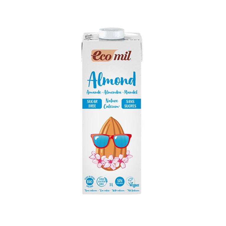 Bebida de Almendra Nature Bio Calcio sin Azúcar 1l Ecomil