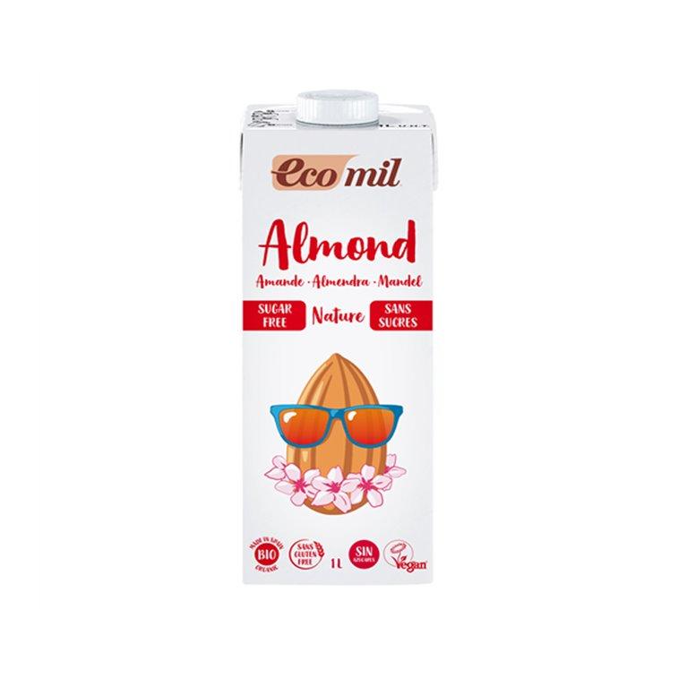 Bebida de Almendra Nature Bio sin Azúcar 1l Ecomil