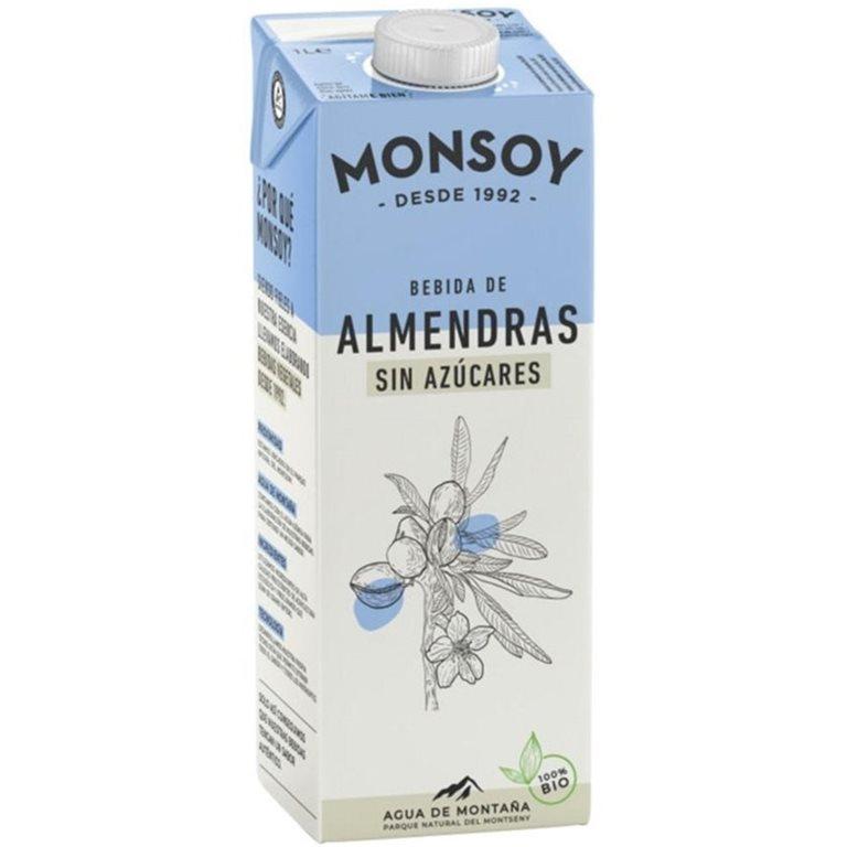 Bebida de Almendras Sin Azúcar Bio 6 x 1L