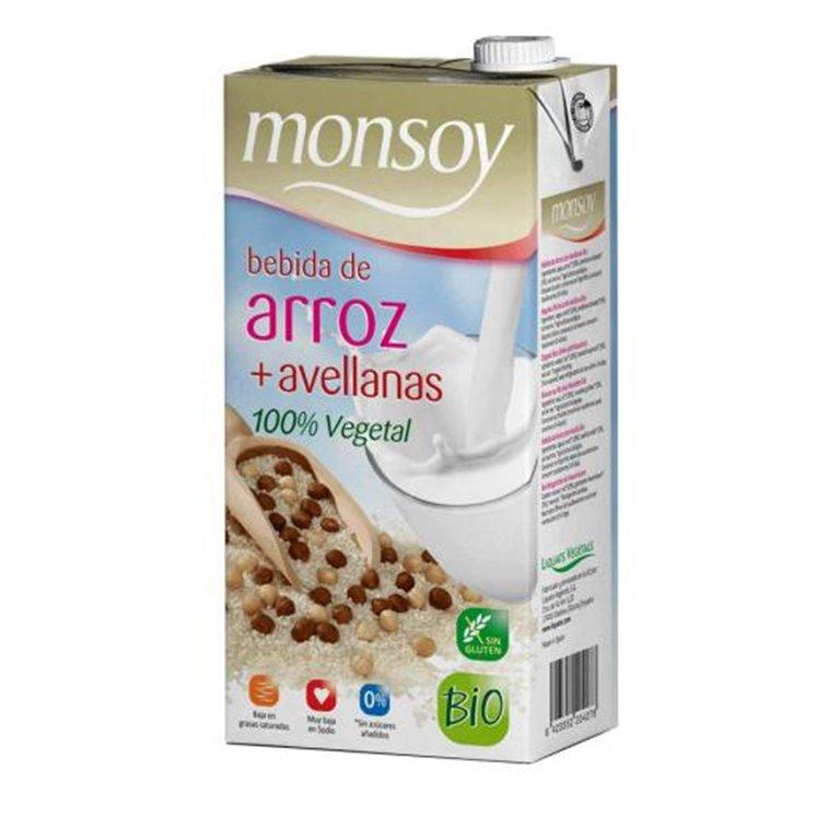 Bebida de Arroz con Avellanas Bio 4L (4 x 1L)