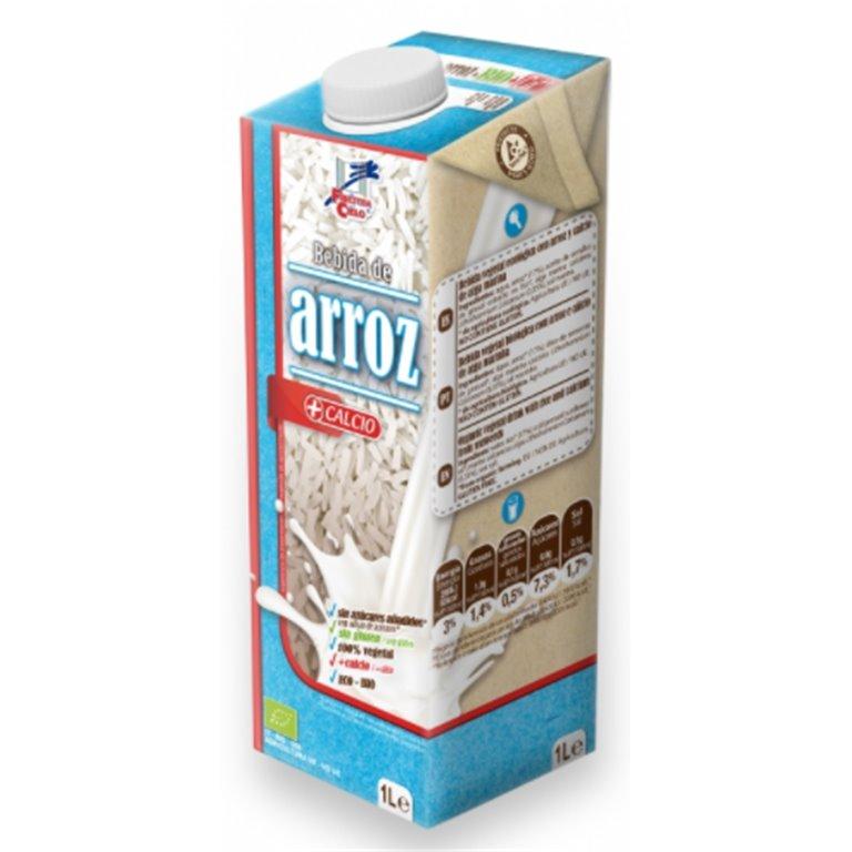 Bebida de Arroz con Calcio Bio 1L, 1 ud