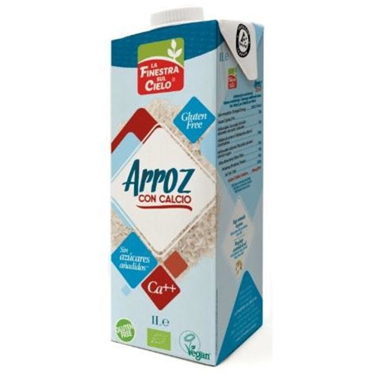 Bebida de Arroz con Calcio Bio 6 x 1L