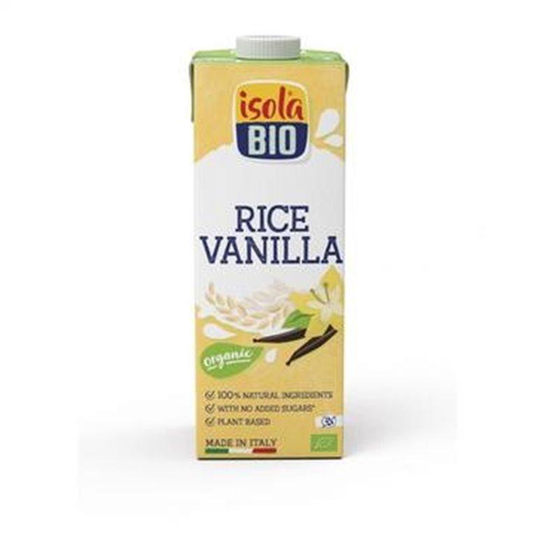 Bebida de Arroz con Vainilla Bio 1L, 1 ud