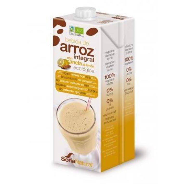Bebida de Arroz Integral Canela Limón Bio 1L, 1 ud