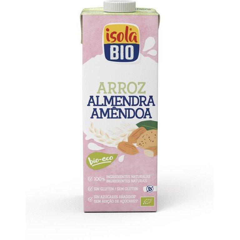 Bebida de Arroz y Almendras Bio 6L (6 x 1L)