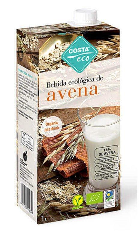 Bebida de Avena, 6 x 1L  - Costa Eco