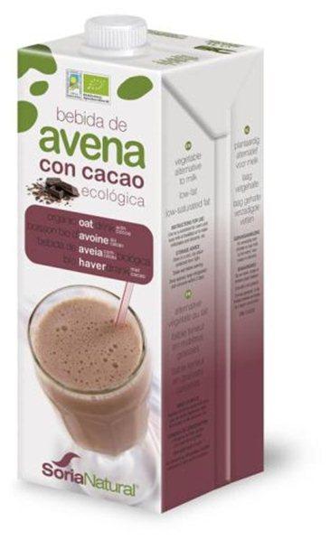 Bebida de avena con cacao BIO