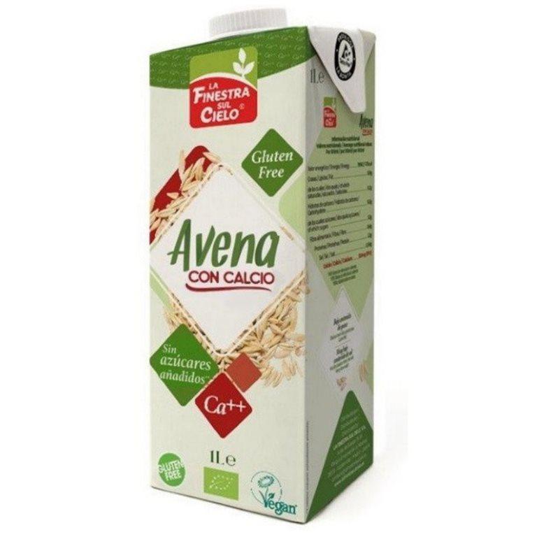 Bebida de Avena con Calcio Sin Gluten Bio 6 x 1L