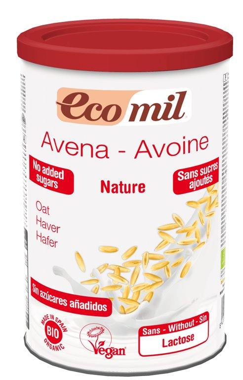Bebida de Avena Polvo 400 Gr EcoMil, 400 gr