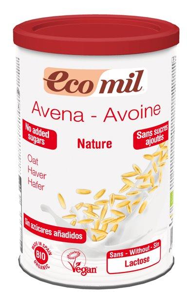Bebida de Avena Polvo 400 Gr EcoMil