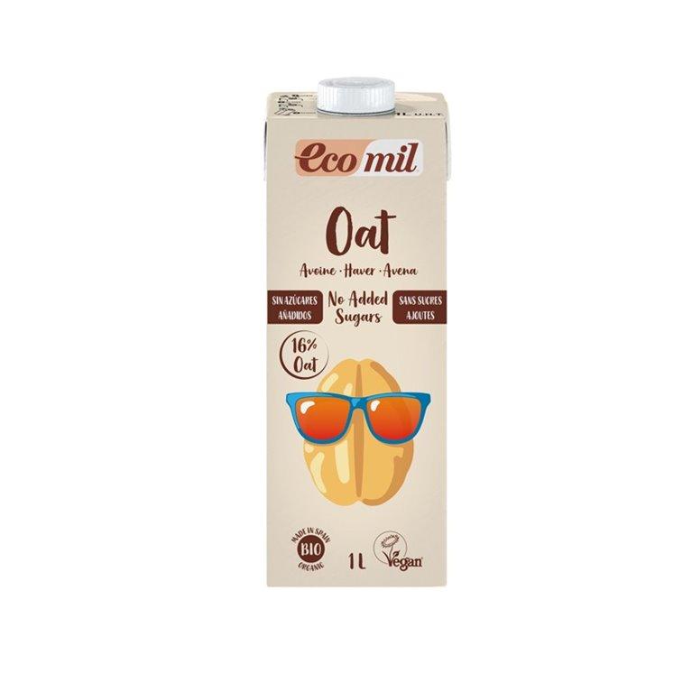 Bebida de avena sin azúcares añadidos bio 1l Ecomil