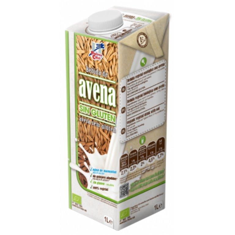 Bebida de Avena Sin Gluten Bio 1L, 1 ud