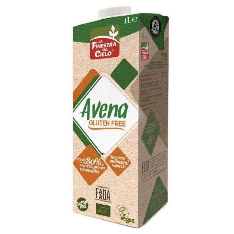 Bebida de Avena Sin Gluten Bio 6 x 1L