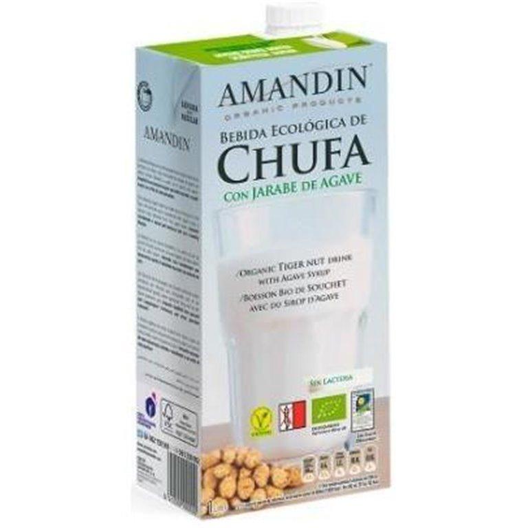 Bebida de Chufa con Jarabe de Agave Bio 1L, 1 ud
